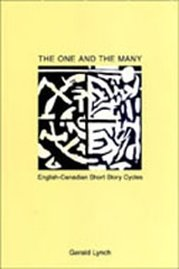 The One and the Many: English-Canadian Short Story Cycles